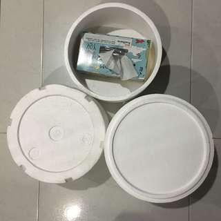 Styrofoam box $5each