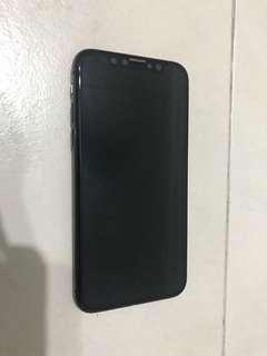 iPhone X with warranty