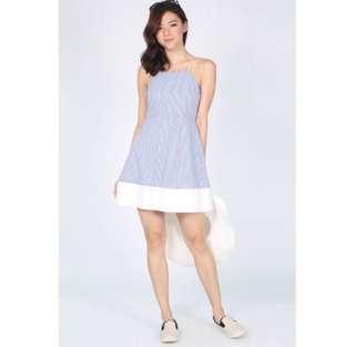 Love Bonito Irma Pinstripe Dress