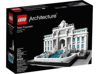 Lego 21020 Trevi fountain architecture