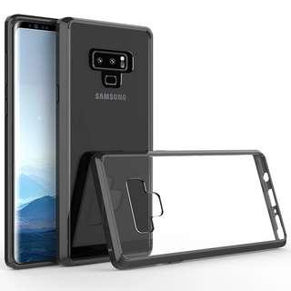 Instock #JANSIN Exxo Samsung Note 9 Case Clear rugged
