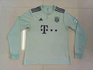 Bayern Munich 18-19 Away Ling Sleeve Kit