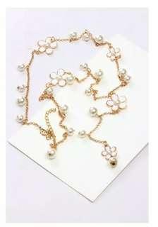 Kalung emas mutiara