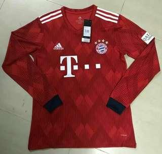 Bayern Munich 18-19 Home Long Sleeve Kit