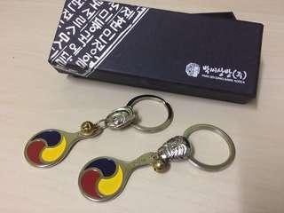 Korean Mini Mirror Keychain