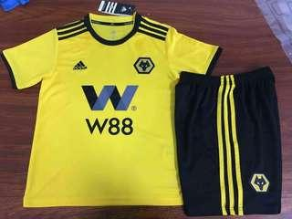 Wolverhampton 18-19 Kids Home Kit