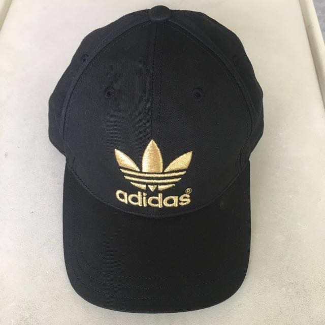c1466ce60f4 Adidas Cap Authentic Gold Trefoil Embroiled Limited Edition