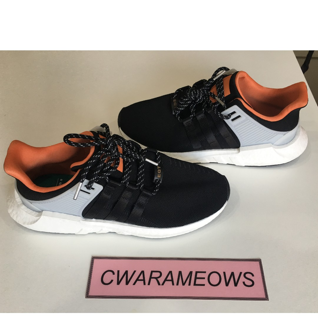 4bf16a6b0 Adidas EQT support 93 17 black orange welding pack US9.5 Brand new ...