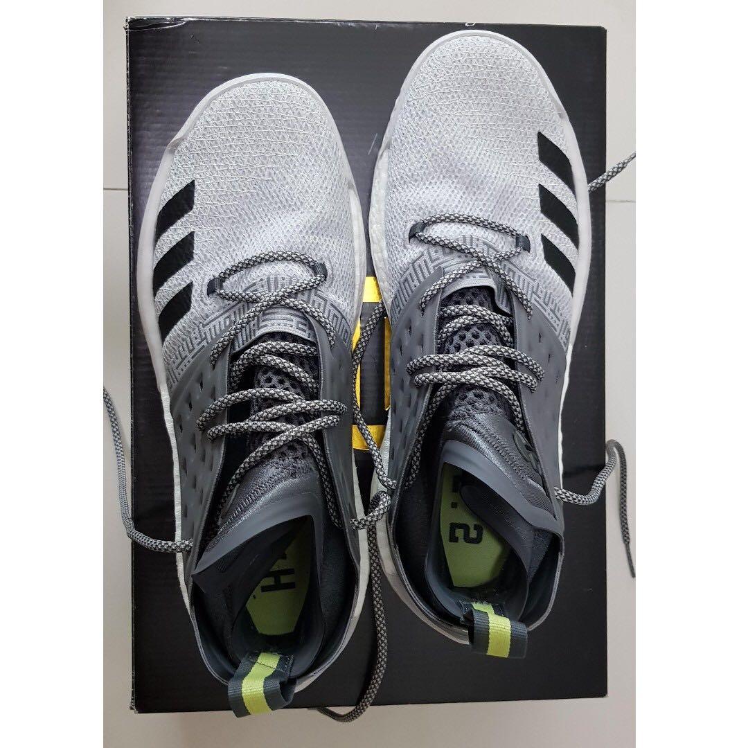 huge discount 52bbe 74266 Adidas Harden Vol. 2 US10 Grey, Men s Fashion, Footwear, Sneakers on ...
