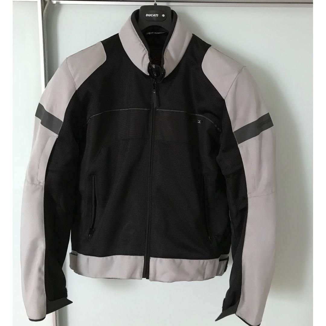Alpinestars Motorcycle Jacket >> Alpinestars Xenon Air Motorcycle Jacket Motorbikes Motorbike