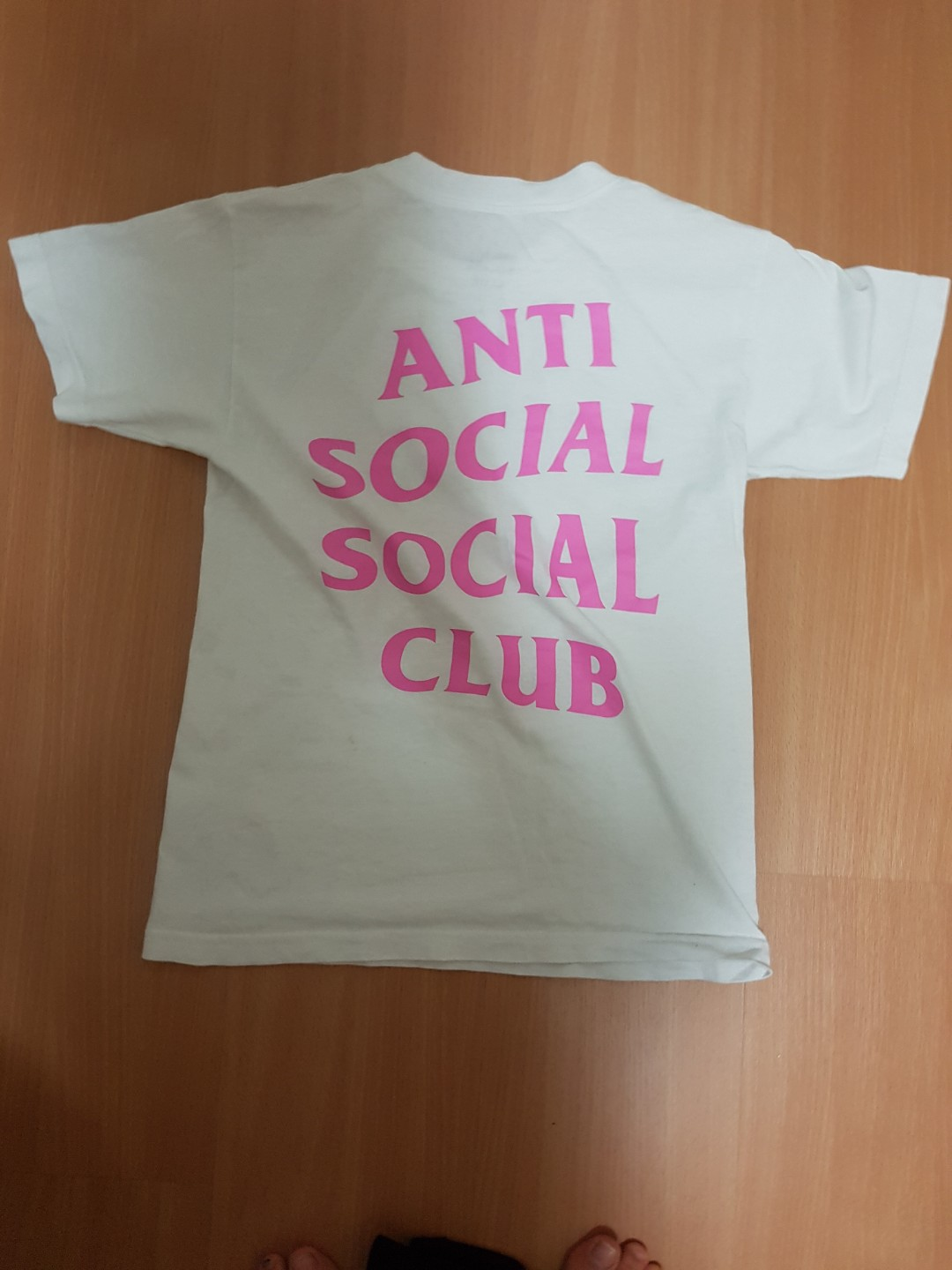 superior quality 7d5ca eb9a3  Authentic  Anti Social Social Club Tee Shirt XS, Men s Fashion, Clothes,  Tops on Carousell