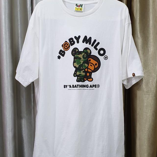 a0a70ffa BAPE Baby Milo Bearbrick Tee, Men's Fashion, Clothes, Tops on Carousell