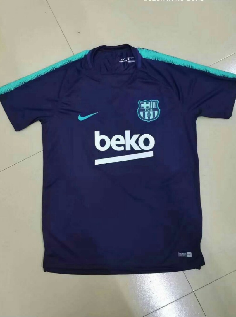 698715f4c8c Barcelona 18-19 Prematch Kit