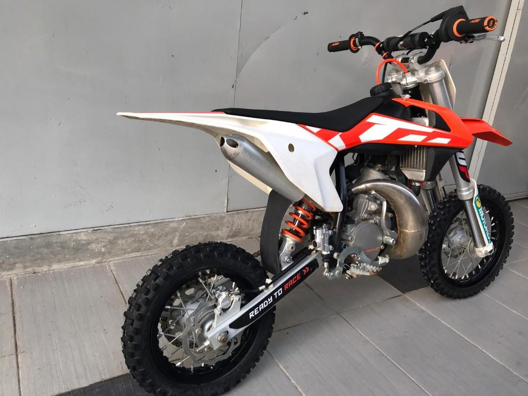 Barely used 2017 KTM 50 SX for sale!, Motorbikes, Motorbikes