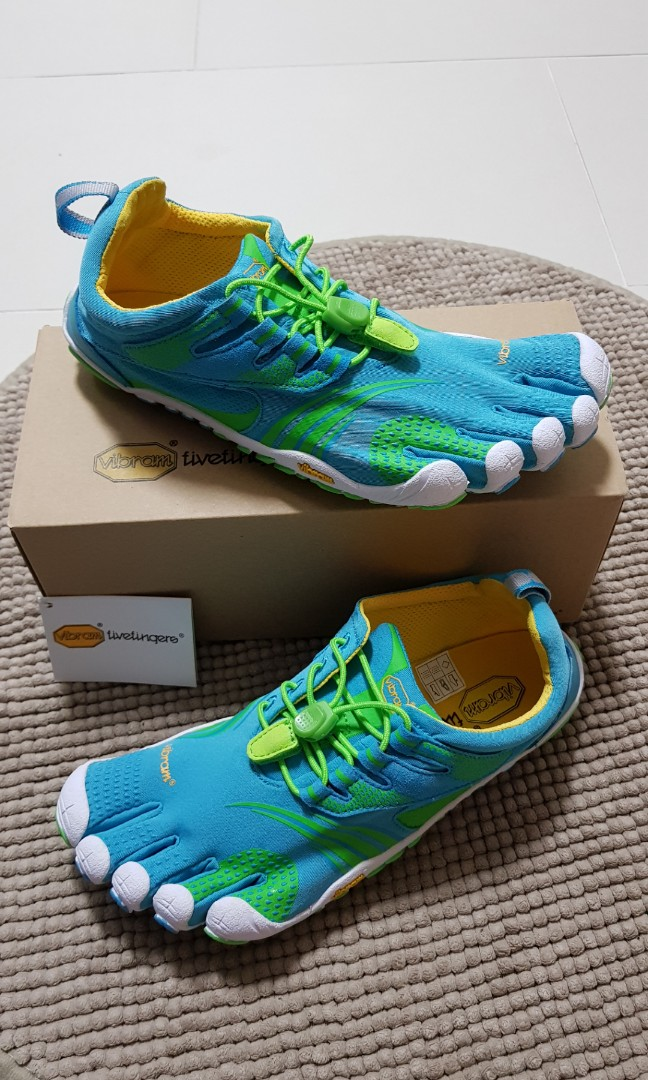 sports shoes 26dd9 ecbeb BNIB - Vibram Fivefingers KMD Sport LS Blue Green Shoes Size 38, Women s  Fashion, Shoes, Others on Carousell