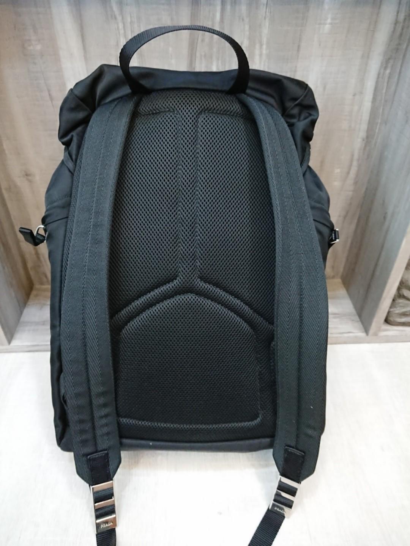 15d951df44d1 NEW Prada backpack haversack 2VZ062 Tessuto Montag (Nero)