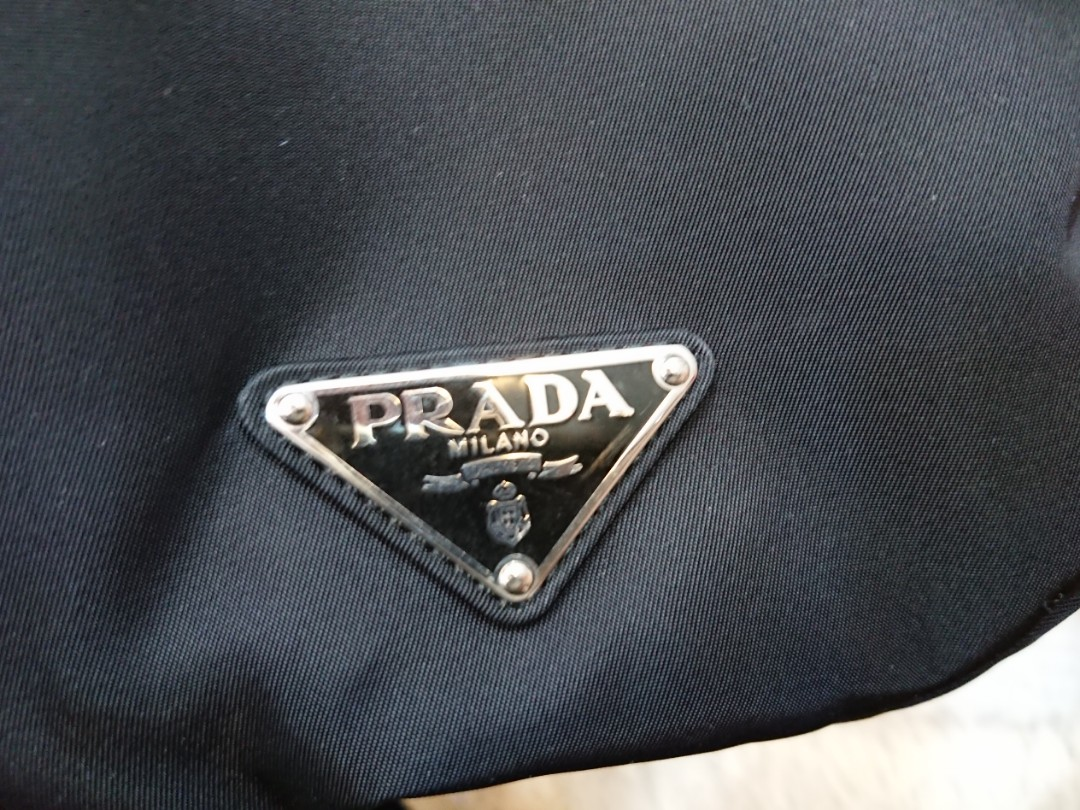 e18b4a40452 NEW Prada backpack haversack 2VZ062 Tessuto Montag (Nero), Luxury, Bags &  Wallets, Backpacks on Carousell