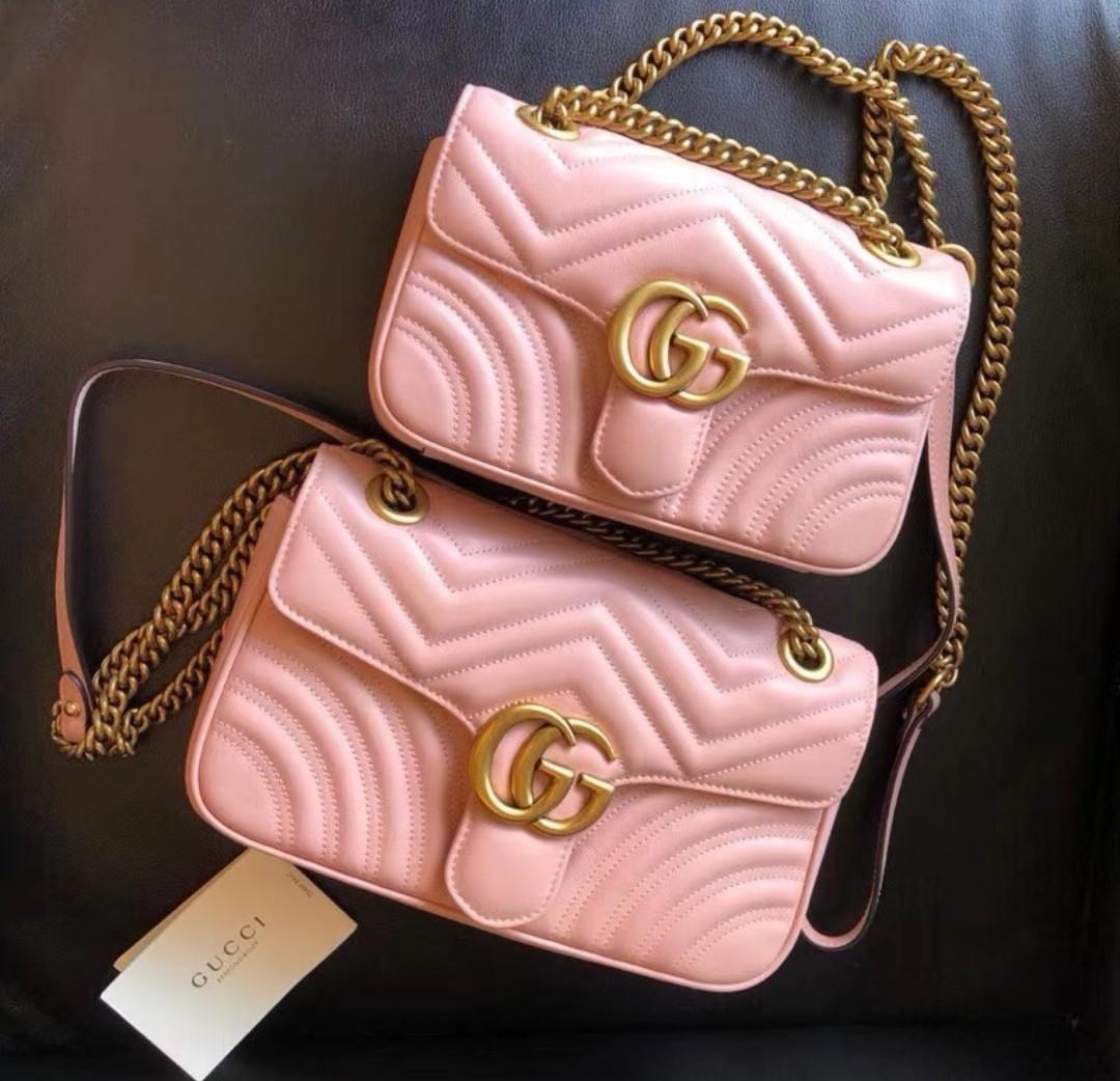 a696a55322f BN Gucci GG Marmont Bag