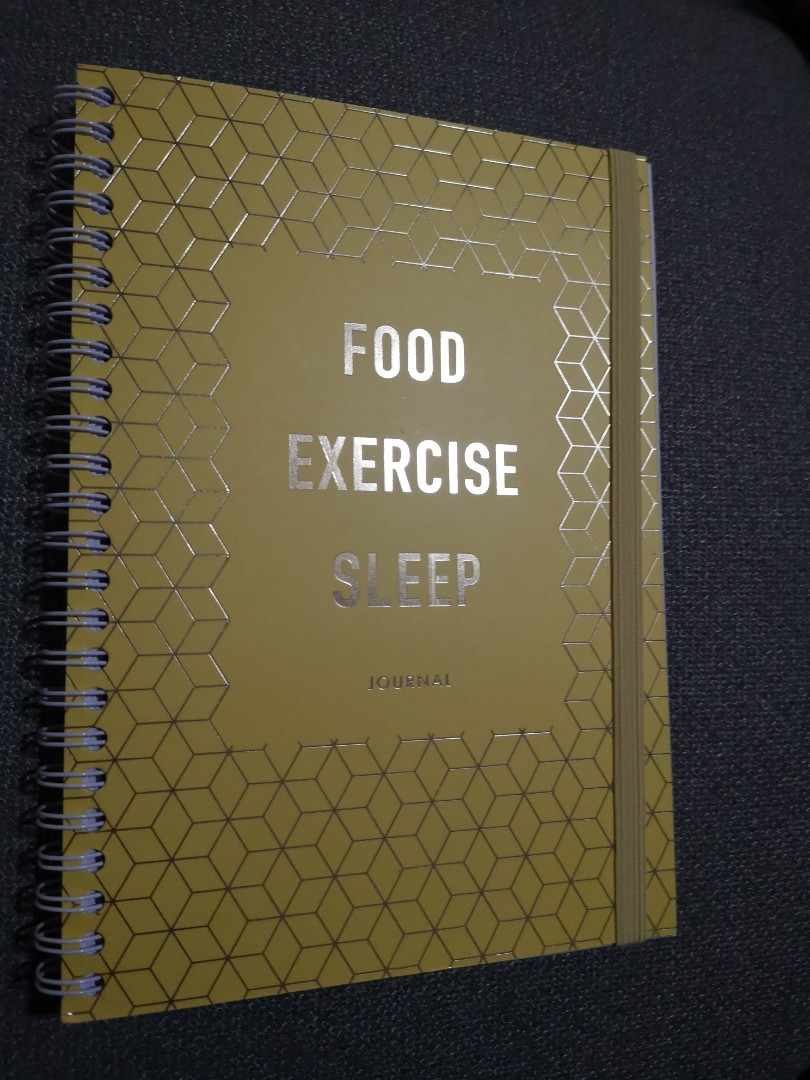 bn kikki k food exercise sleep journal books stationery