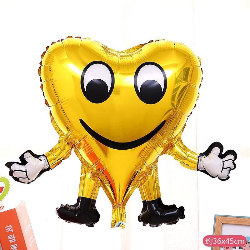 C141 Happy Birthday Party Foil Balloon Emoji Face Design Craft Others On Carousell