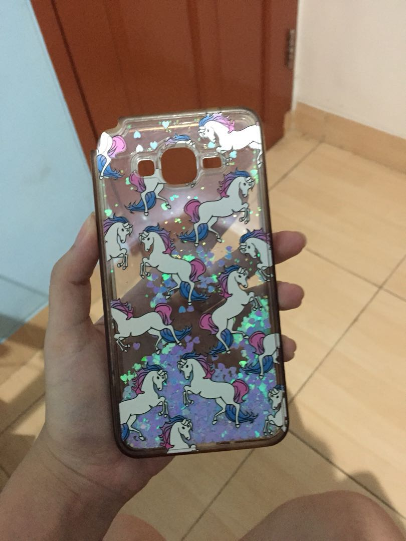 Case Unicorn Samsung Grand Prime Telepon Seluler Tablet Ponsel Android Di Carousell