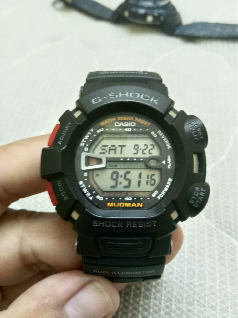 7e9790eb578262 Casio G Shock G 9000 Mufman, Men's Fashion, Watches on Carousell