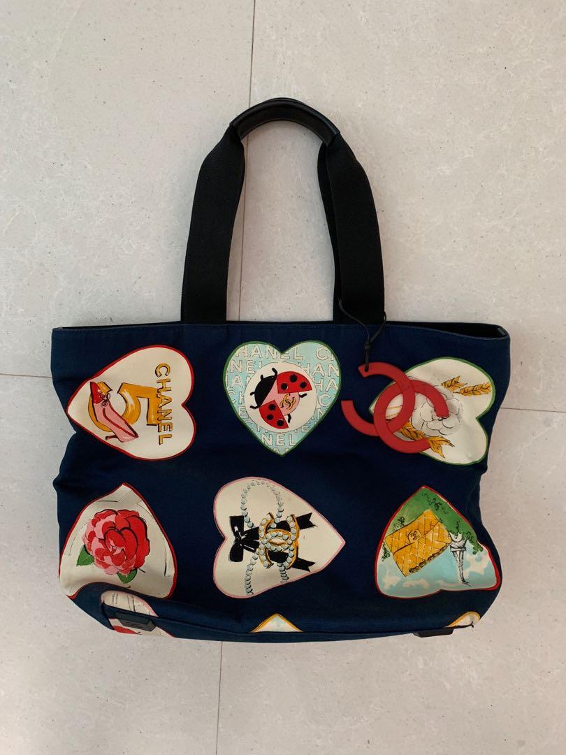 7f8bc5bedf69 Chanel Beach Bag, Women's Fashion, Bags & Wallets, Handbags on Carousell