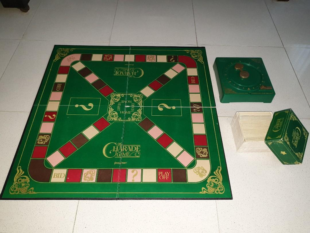 Charade Boardgame