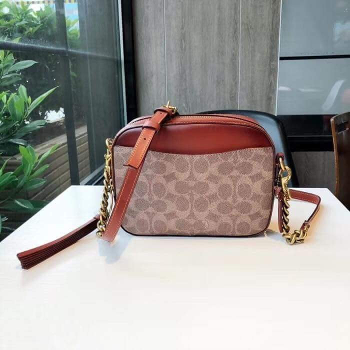 5c695b3b9681 Coach Camera bag in Signature Canvas
