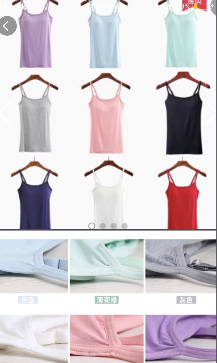 299797eadc5faf Collating pre orders for womena bra top like airism uniqlo womens fashion  clothes tops on carousell