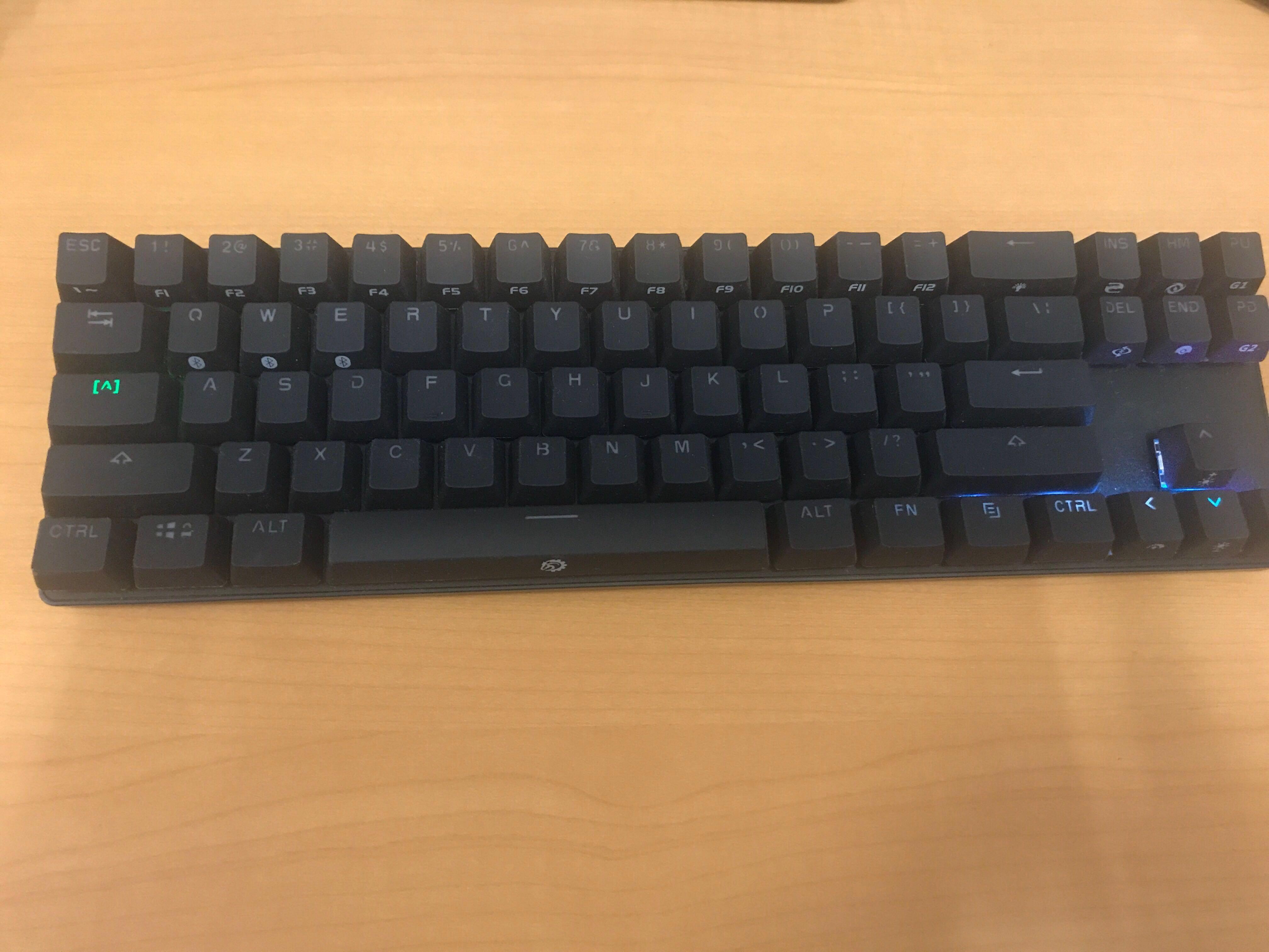 30607bd9324 DREVO Calibur 71-Keys Bluetooth Mechanical Keyboard, Electronics ...