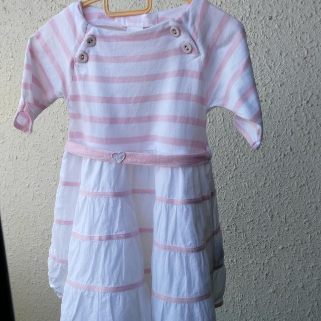Pre Loved French Brand Girl Dress For 12 Mths(Further Reduction)