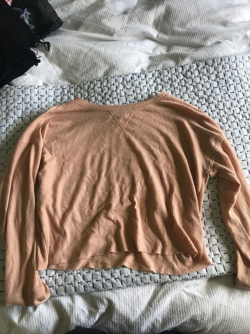 Glassons pink long sleeve