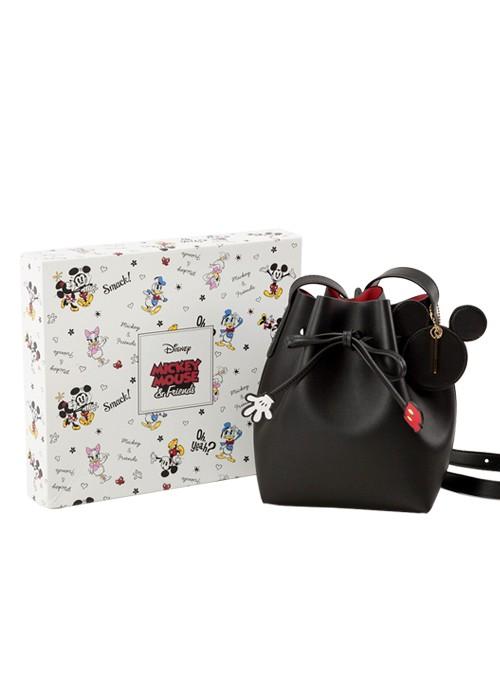 751de32d31c1c4 Gracegift Mickey drawstring cylinder bag, Women's Fashion, Bags ...