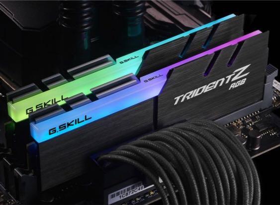 G Skill TridentZ RGB 2X8GB 3200Mhz DDR4 Ram