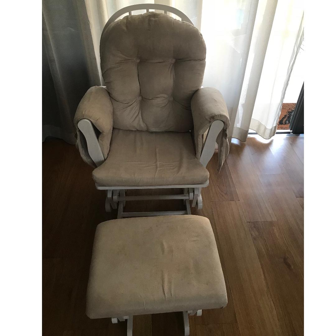 buy popular 2b2ff 7e56a Haywood Nursing Chair and Footstool