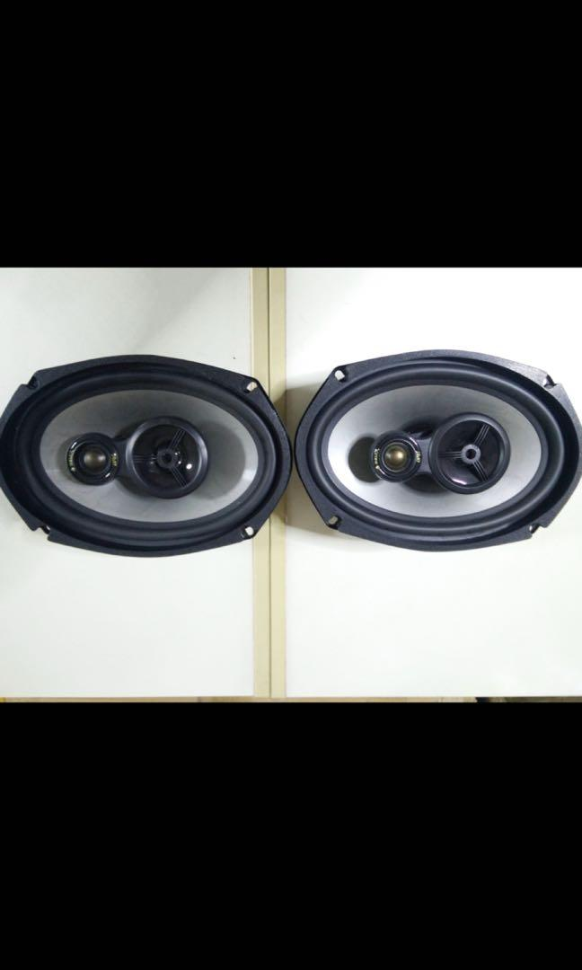 Helix coaxial speakers 6x9