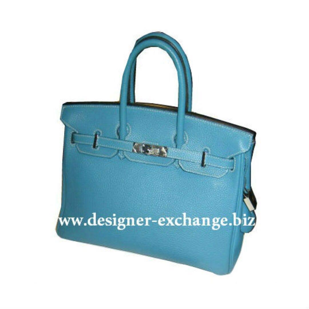 d0f93e606ee Hermes Birkin 25 Blue Jeans Togo Leather Palladium Hardware (H stamp ...