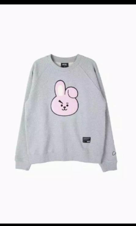 Jastip BTS BT21 grapic sweatshirt official merchandise