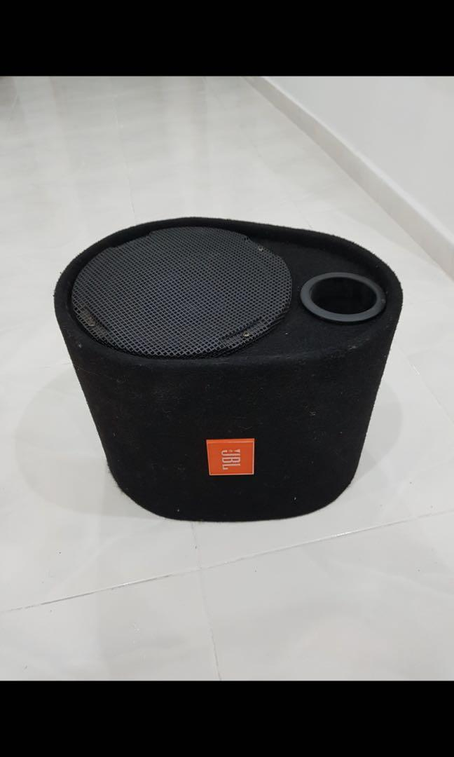 """JBL 12"""" subwoofer with box"""