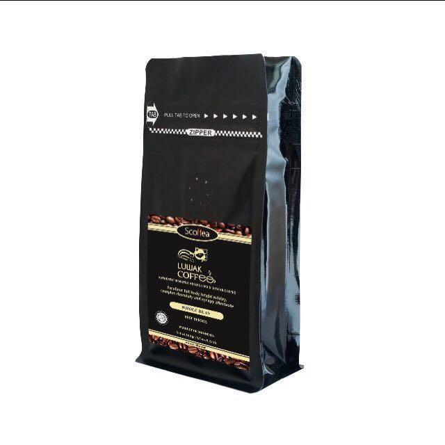Kopi Luwak / Luwak Coffee - Authentic Arabica Organic Roasted Bean from Free Range Inhabitant Sumatran Luwak / Civet - 100 grams, Food & Drinks, ...