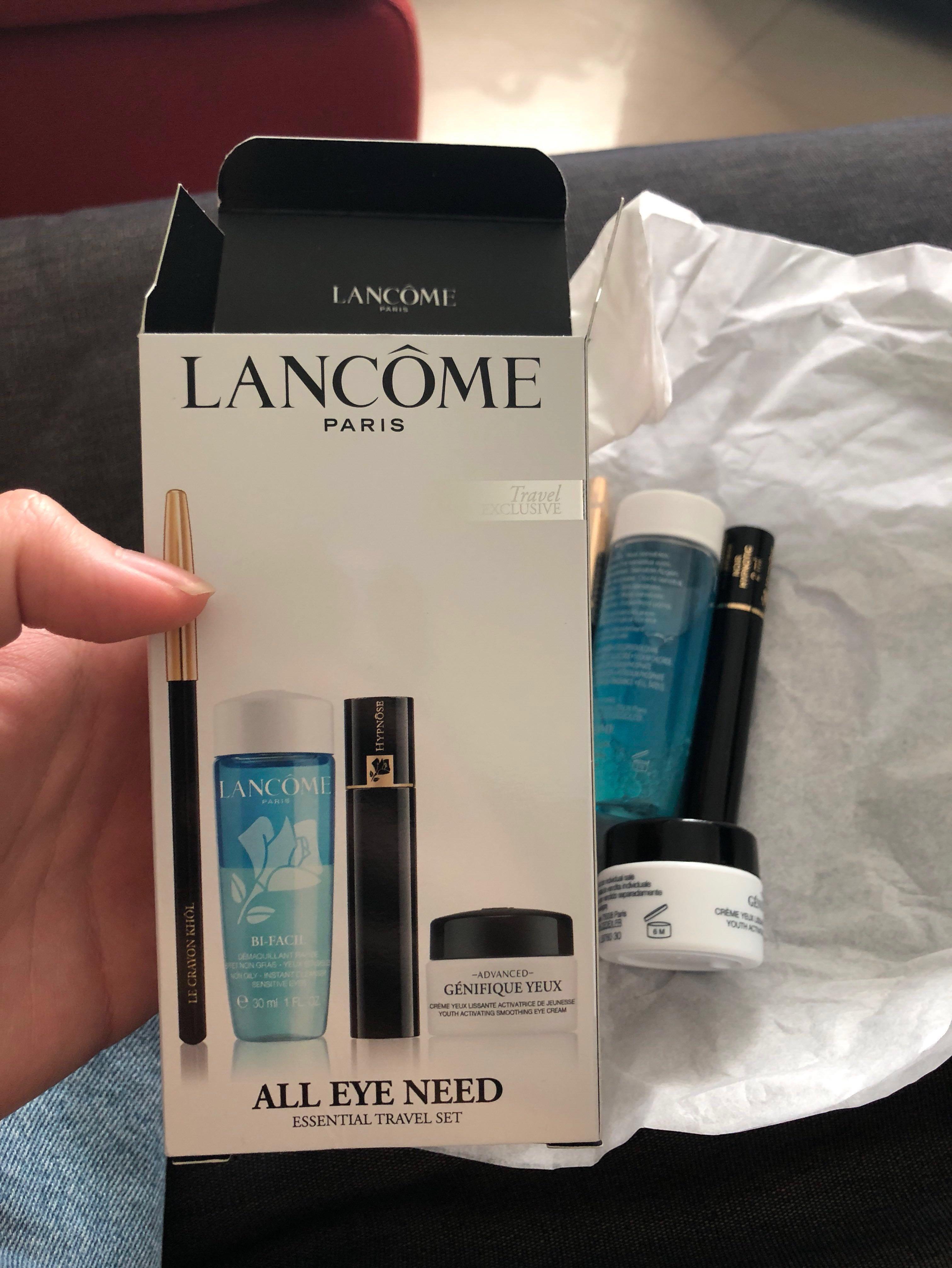 Lancôme All Eye Need Essential Travel Set, Health & Beauty