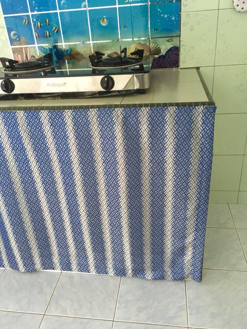 Langsir Kabinet Dapur Home Furniture Home Decor On Carousell