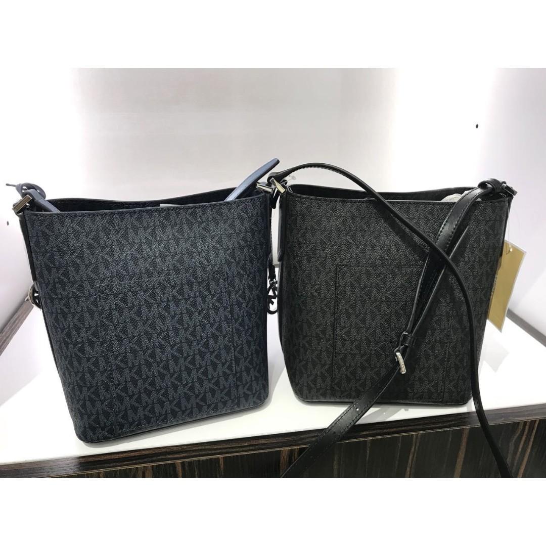 62363a754e6a0a Michael Kors Small Bucket Crossbody Women S Fashion Bags Wallets