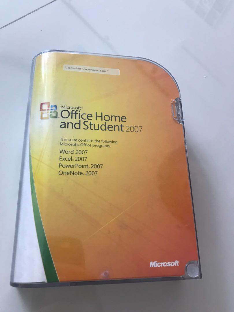 microsoft office excel home and student 2007 product key