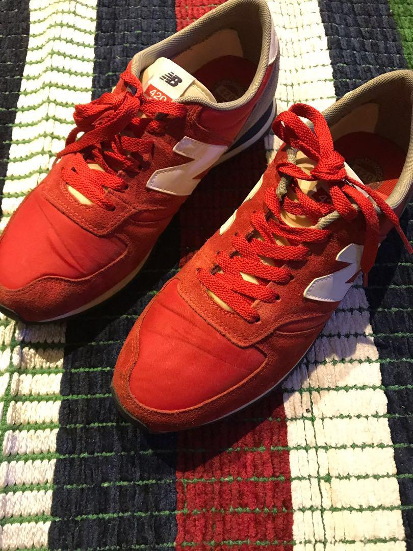 New Balance 420, Men's Fashion, Footwear, Sneakers on Carousell