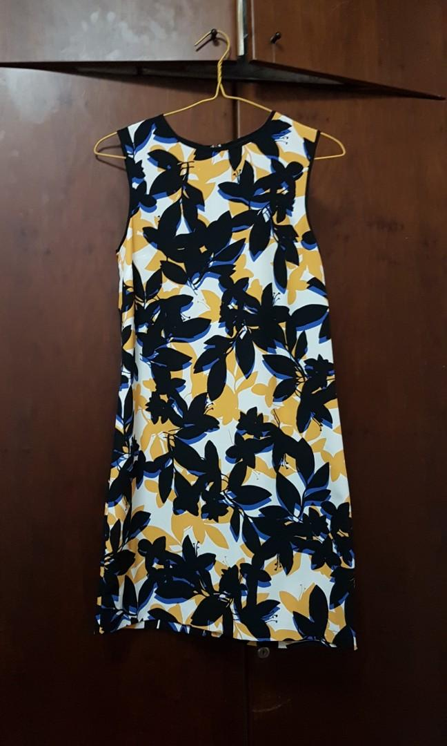 WAREHOUSE BRAND NEW Black Red Floral Flower Button Up Cami Dress Size 6-18