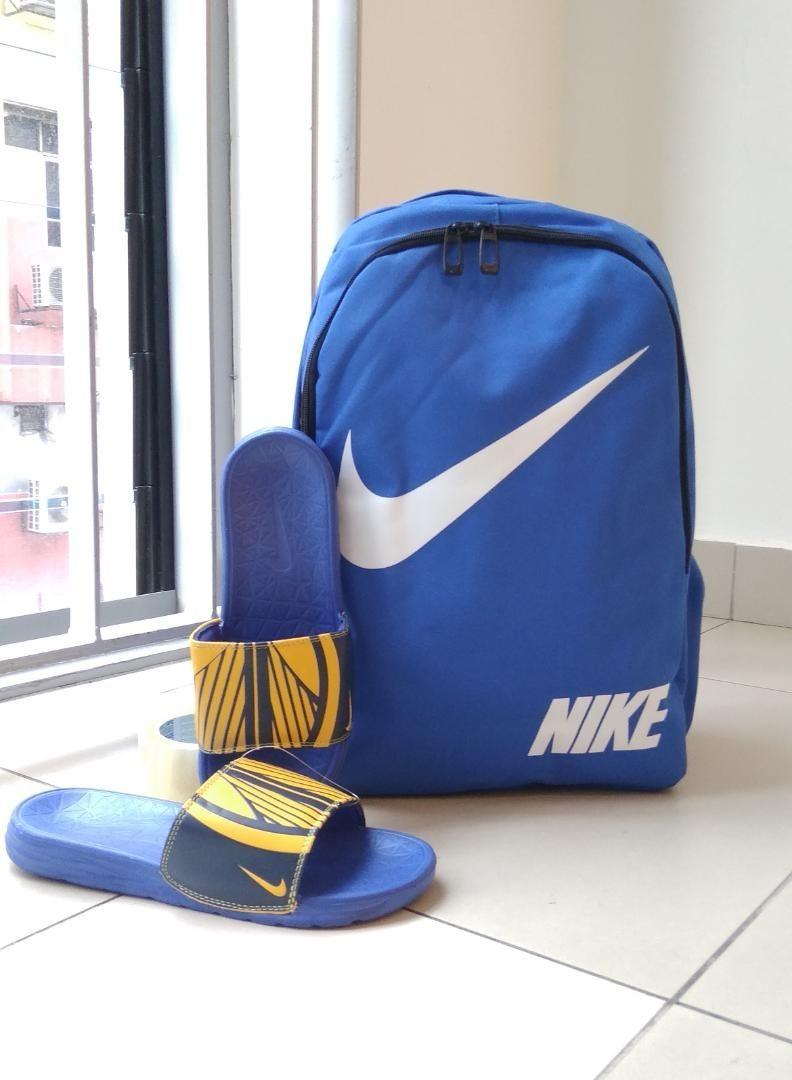 NIKE Backpack Set with Sliper £ 8e7a06b614825
