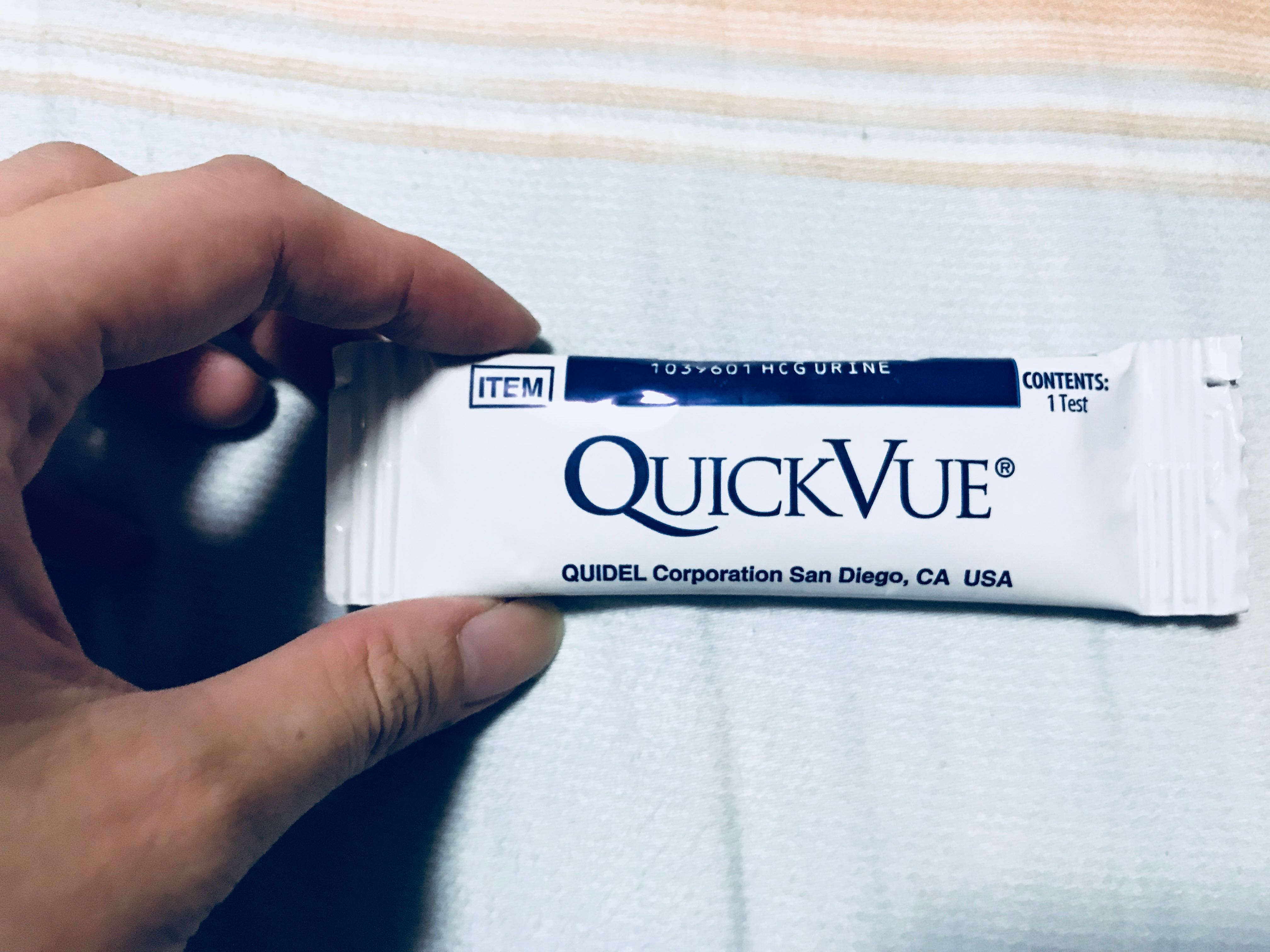 Quickvue Pregnancy Test Strips Everything Else On Carousell