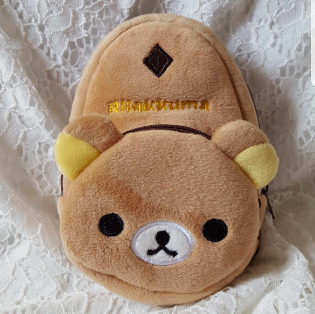 Rilakkuma Mini Backpack Wristlet Pouch 19db3a7837469